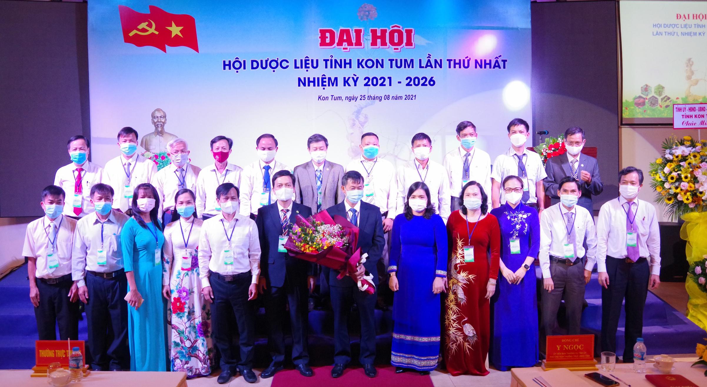 Đại hội Hội Dược liệu tỉnh lần thứ I tỉnh Kon Tum