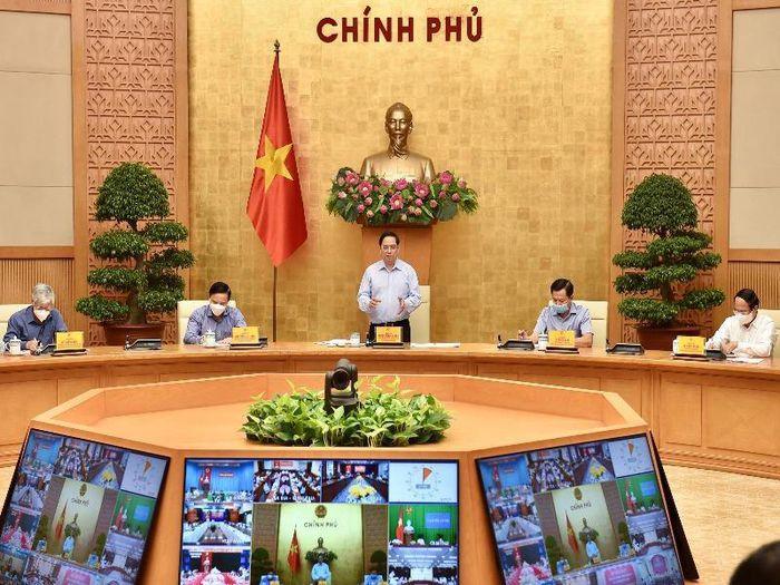 Thủ tướng họp trực tuyến với 1060 UBND cấp xã về vấn đề COVID-19