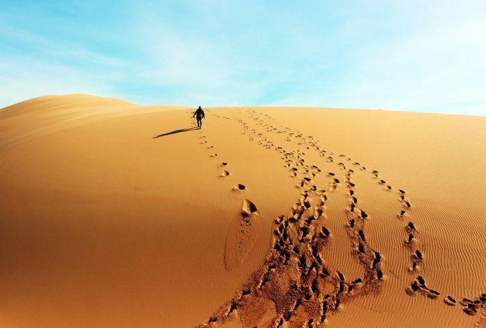 Đồi cát Hòa Thắng: Nét hoang sơ độc đáo của sa mạc 'Sahara Việt Nam'