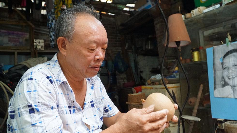 Nghệ nhân Đặng Trần Hiền – Giữ gìn, bảo tồn và khôi phục dòng gốm da chu