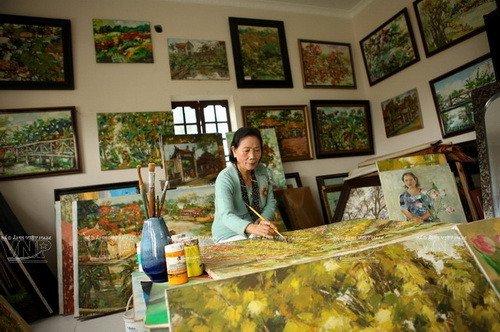 Bảo tàng Mỹ thuật tư nhân Phan Thị Ngọc Mỹ Không gian nghệ thuật độc đáo lưu giữ hồn việt