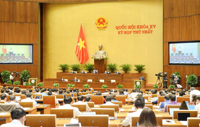 Quốc hội đánh giá về công tác phòng, chống dịch COVID-19