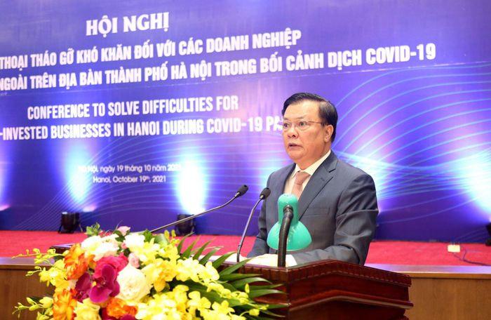 Hà Nội đối thoại, tháo gỡ khó khăn cho doanh nghiệp FDI trong bối cảnh dịch COVID-19