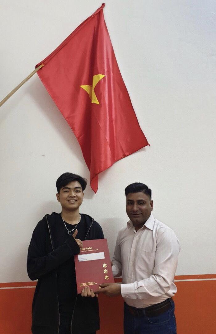 Nguyễn Khánh Việt -  ước mơ trở thành Nhà Ngoại giao tương lai