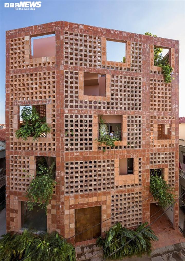 Nhà bọc gốm Bát Tràng đoạt giải thưởng kiến trúc quốc tế