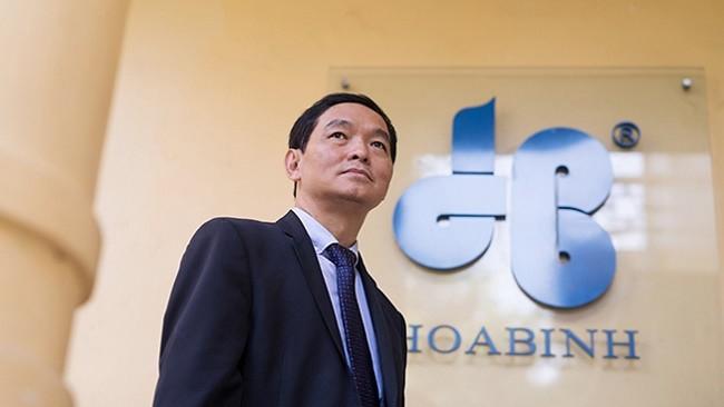 Ông Lê Viết Hải - Chủ tịch HĐQT Công ty CP Tập đoàn Xây dựng Hòa Bình