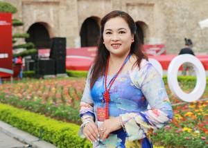 Bà Đoàn Thị Trúc Linh - Doanh nghiệp áo dài Hải Triều