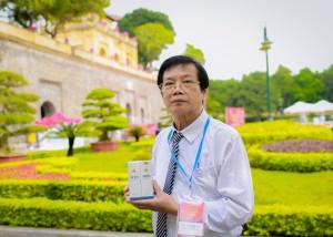 Tiến sĩ - Bác sĩ Nhâm Văn Sinh, thuốc chữa bỏng SH91
