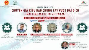 'Chuyên gia kiều bào chung tay vượt đại dịch - Vaccine Made in Vietnam'