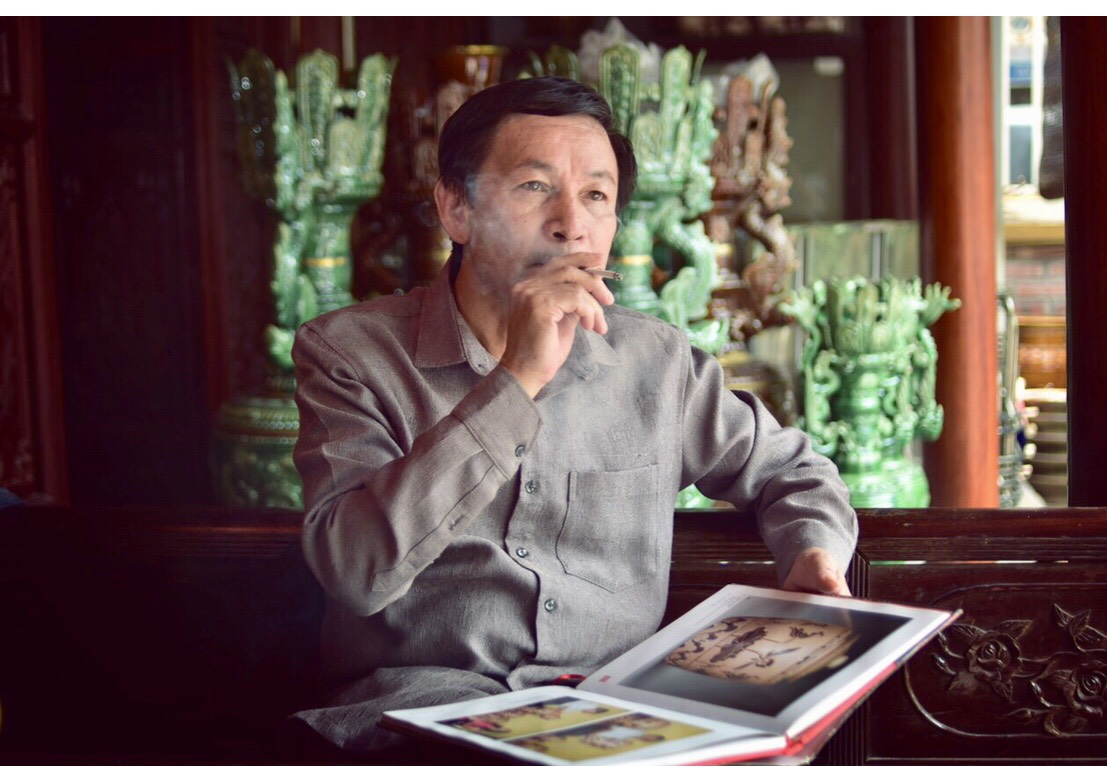 Chuyện trò cùng Nghệ nhân Nhân dân Trần Độ       Vua Men Gốm Người con của làng nghề Bát Tràng.