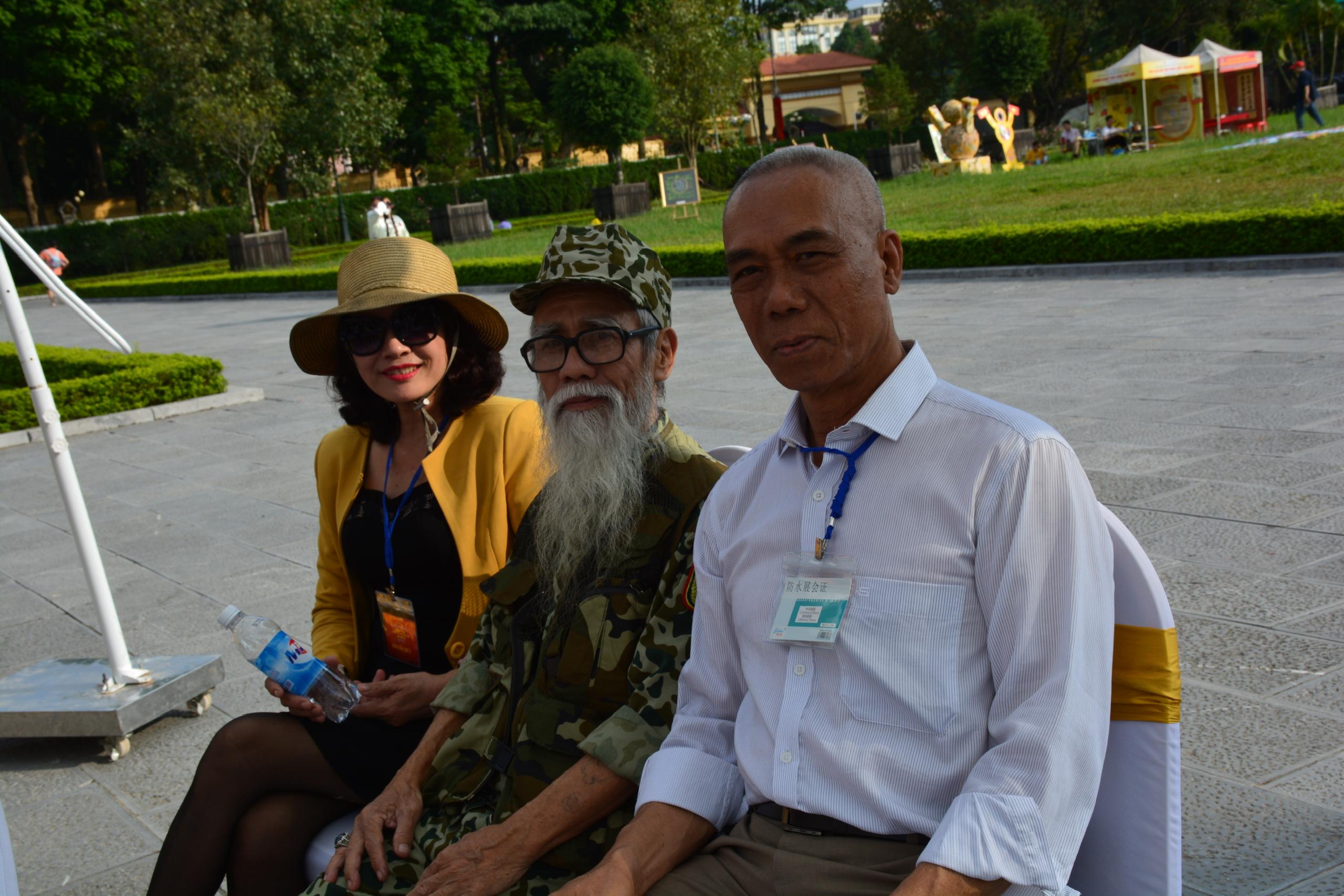 Võ sư Trần  Ngọc Dũng – Chánh văn phòng Trung tâm Unesco Phát triển Văn hóa và Thể thao.