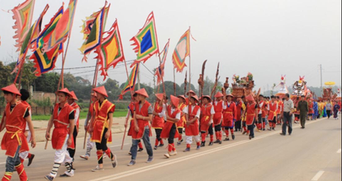 Đình Triệu Phú –Thị Trấn Hùng Sơn - Huyện Lâm Thao – Tỉnh Phú Thọ đón nhận bằng  Di tích lịch sử văn hóa cấp tỉnh
