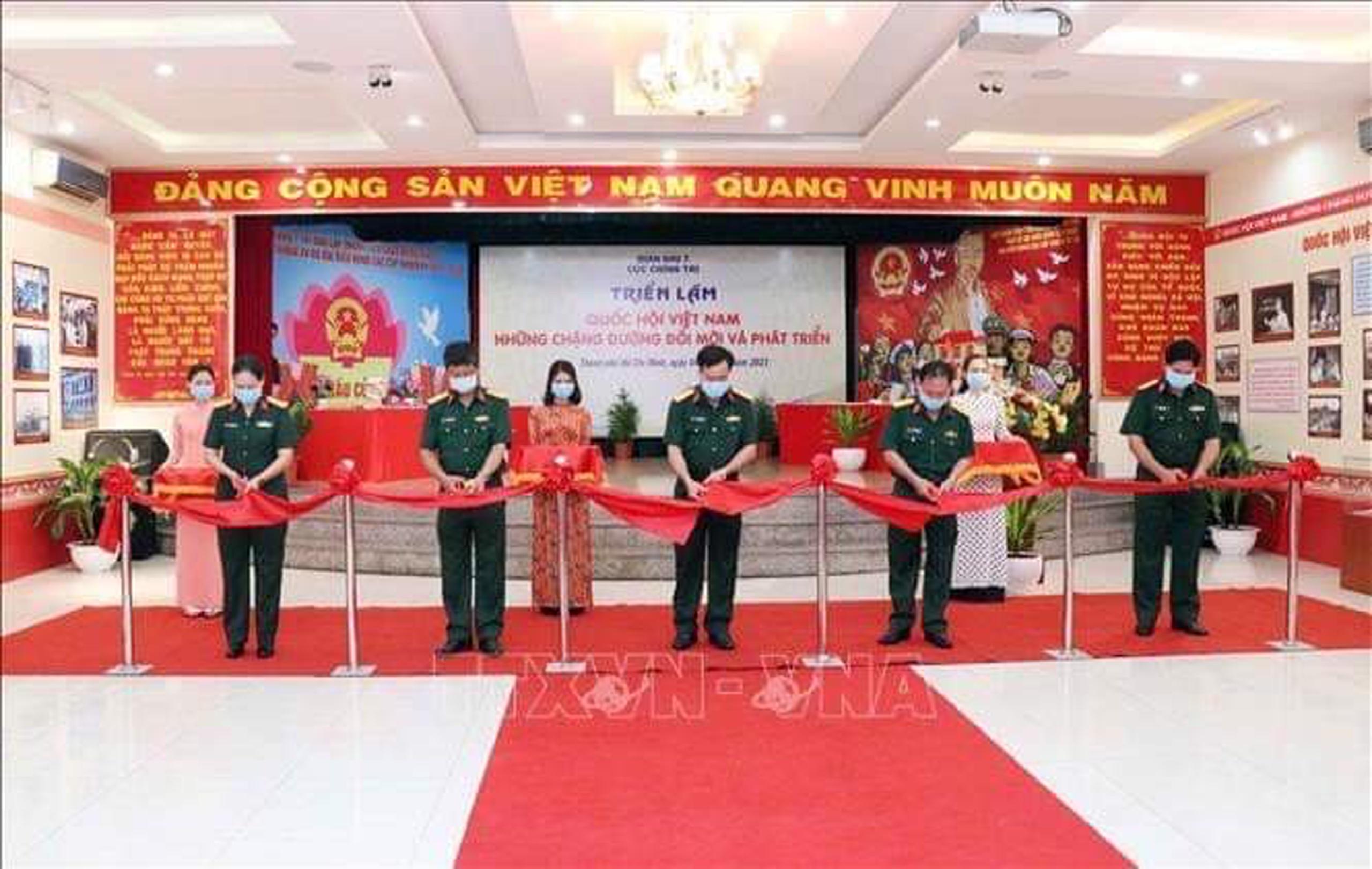 """Khai mạc triển lãm """"Quốc hội Việt Nam - Những chặng đường đổi mới và phát triển"""""""