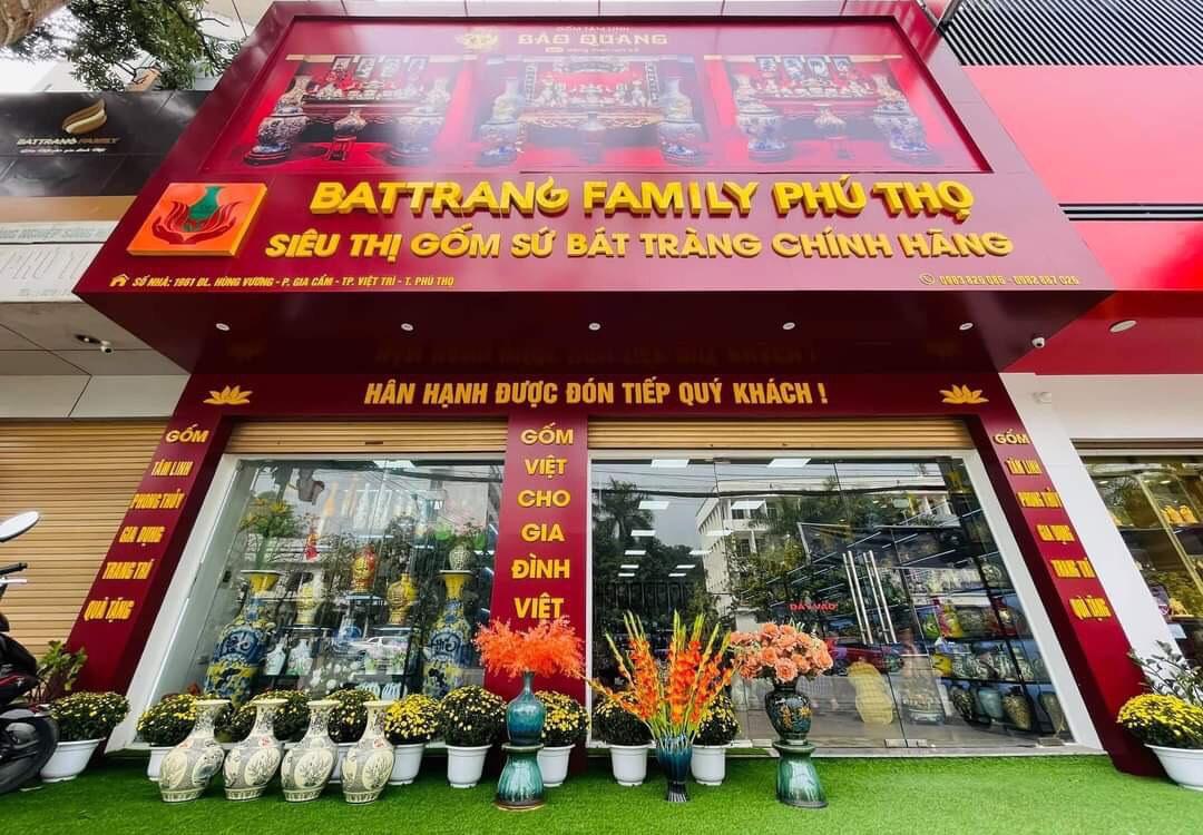 Battrang Family Phú Thọ - mang tinh hoa làng nghề Bát tràng về đất Tổ